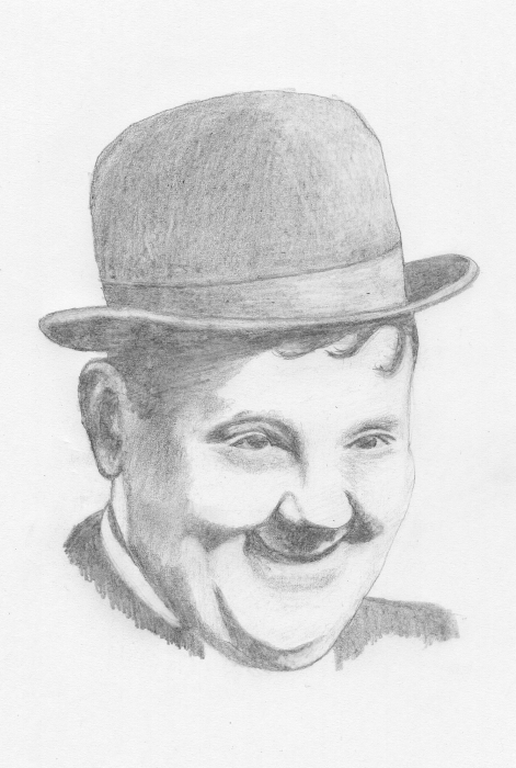 Oliver Hardy by JimmyE